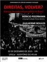 DCHE promove Seminário no Campus Sorocaba para debate dos dilemas da onda conservadora no Brasil