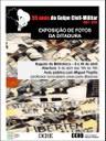 """Documentário """"Porque lutamos!"""" de Fernanda Ikedo fecha a exposição sobre a ditadura militar"""