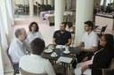 Estudantes entrevistam secretário executivo do Plano Nacional do Livro e Leitura