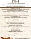 V Encontro Mês da Consciência Negra e III Seminário de Educação para a Educação das Relações Étnico-raciais e Formação de Profissionais da Educação.